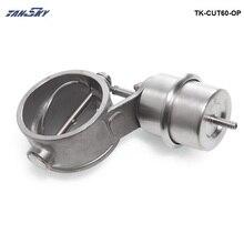 Вакуумный активированный Выпускной вырез/дампа 60 мм Открытый Стиль давление: около 1 бар для Ford Mustang 1986-1993 TK-CUT60-OP