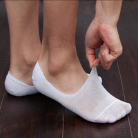10 Pcs Men S Sock Slippers Non Slip Silicone Invisible Socks Short Boat Socks Spring Summer