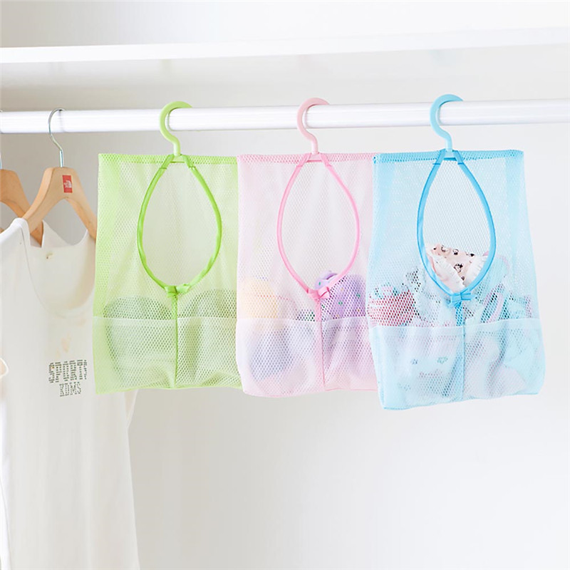 2016 portable hanging clothespin mesh storage holder bag organizer decorating kitchen bathroom supplychina - Multi Bathroom 2016