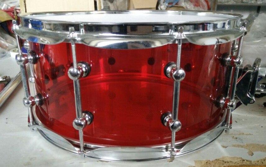 Акриловый барабан с 10 отверстиями 14*6,5 дюйма