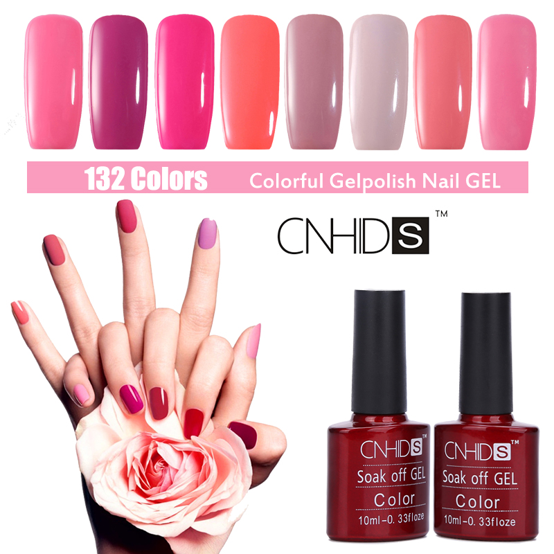 CNHIDS 132 Colors Gel Nail Polish Professional UV Gel Nail Polish ...