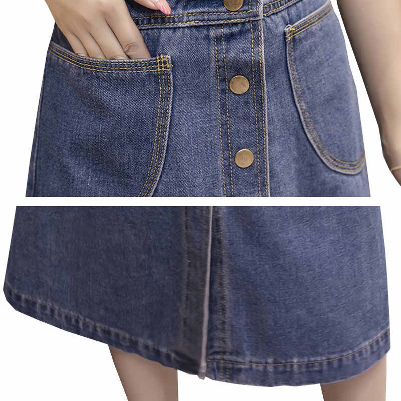 Женское платье больших размеров, платье на бретельках, джинсовые летние джинсы 2019, свободное платье, без рукавов, женские длинные платья, новинка, Vestidos HS73