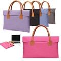 Brand Portable KUMON Brefcase Laptop Case 12 13 14 15.6 inch Laptop Bag Notebook Sleeve for Macbook Pro 13 15 Handbag Men Women