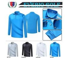 Men's Spring Autumn Golf Long Sleeve Top Golf POLO Shirt Quick Dry Breathable  Golf Sportswear Men sports T-shirt 4 Colors