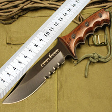 2016 New  outdoor field items small straight knife self-defense survival knives diving multi-function knife