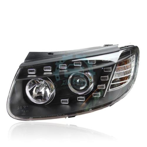 Для Hyundai Santa Fe 2006-2010 светодиодные фары <font><b>Bi</b></font> Xenon объектив проектора огни