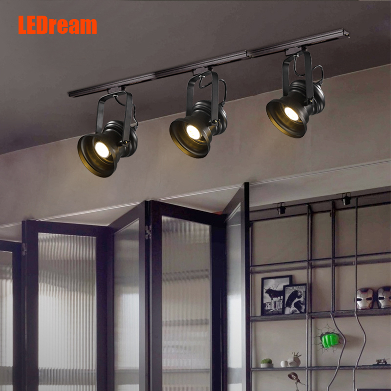Фотография LEDream American pastoralndustry Creative droplight barclothing barindividual character dining-room, wrought iron