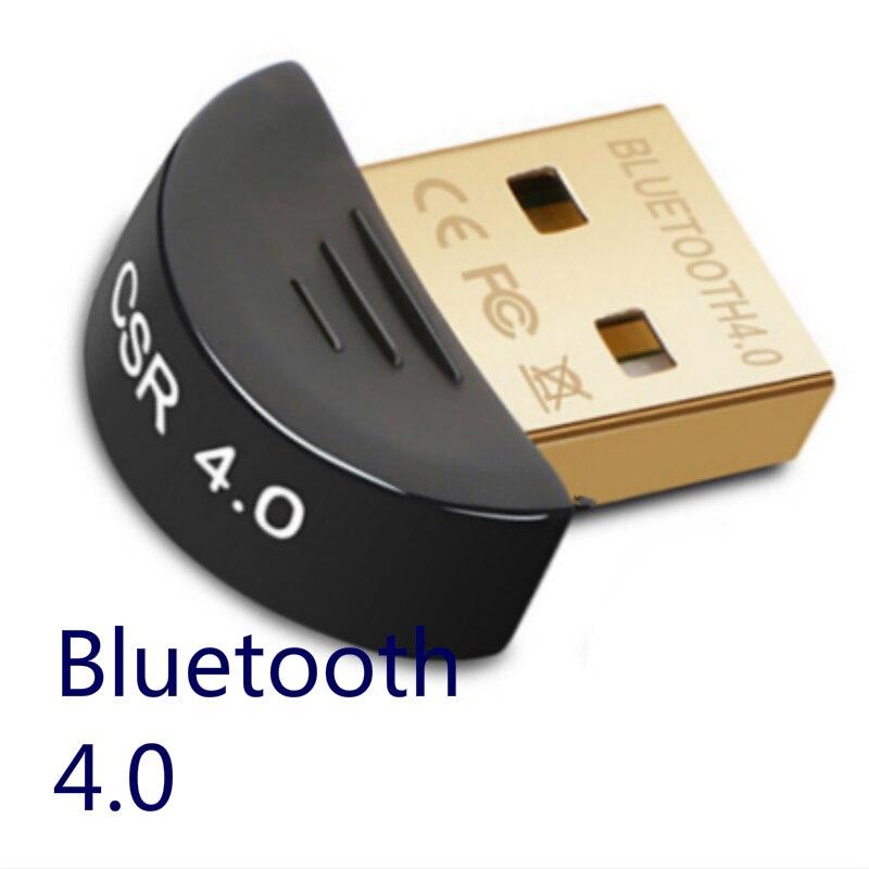 Bluetooth Adapter V4.0 CSR Wireless Mini USB Bluetooth Dongle 4.0 Transmitter for Computer PC Win XP Vista7/ 8/10 3