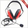 Reducción de ruido Auriculares de Aviación TD16-R-K1 Para Baofeng/HYT/TYT/WOUXUN/Puxing/Quansheng Radio de Dos Vías bf-888s uv5r uv82 md380