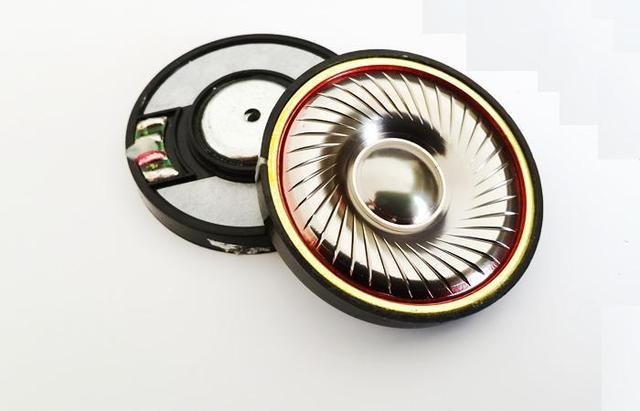 50mm speaker unit Titanium gold diaphragm