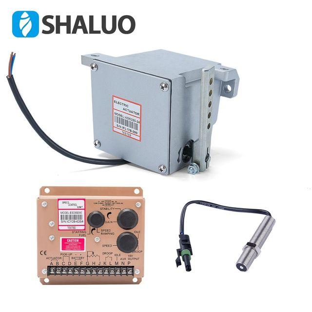 actuator ADC225 12V or 24v Diesel generator Governor 1set  actuator ADC225 pickup sensor 3034572 speed controller ESD5500E