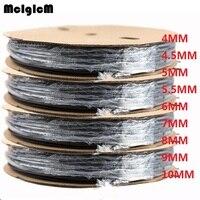 1reel Heat Shrink Tube 4MM 4.5MM 5MM 5.5MM 6MM 7MM 8MM 9MM 10MM Heat Shrink Tubing Shrinkable Wrap Wire Cable Sleeve Kit