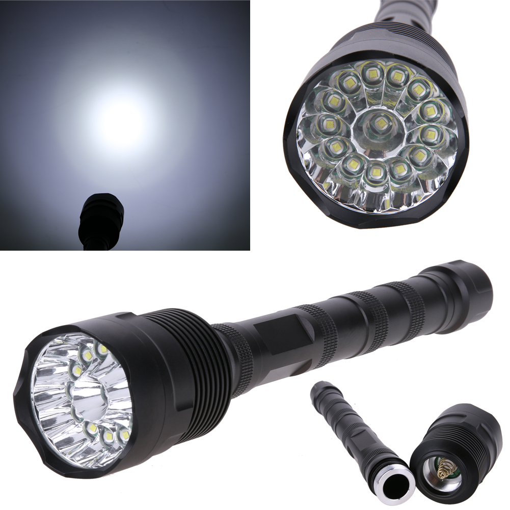 Adjustable Outdoor Traval Camping Hunting Light 34000LM Super Bright 14 XML T6 5Modes LED 18650 Torch Flashlight 34000 lumens trustfire x100 super led torchlight 8000 lumens waterproof led flashlight 5 modes outdoor hiking hunting camping led torch