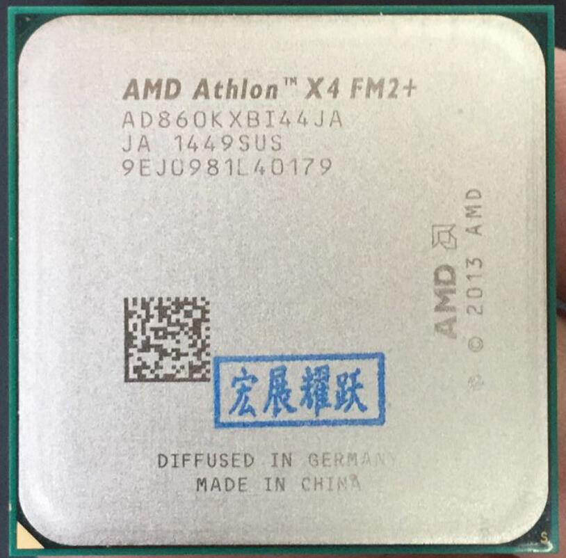AMD Properly X860K Athlon X4 Fm2  CPU Desktop-Processor Quad-Core Computer 100%Working