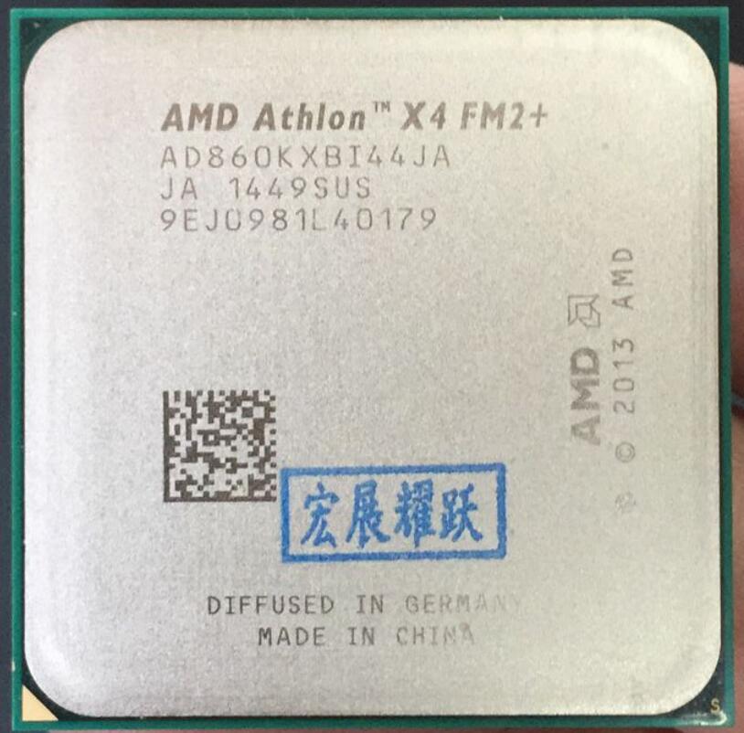 AMD ordinateur pc Athlon X4 860 K X 860 K FM2 + Quad-Core CPU 100% fonctionne correctement processeur d'ordinateur de bureau