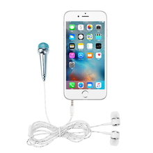 Microphones for Phone Earphone Kit Music Sound Recorder