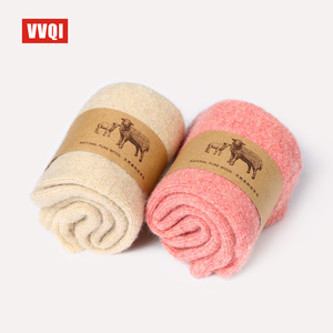 Image 4 - VVQI kawaii women winter socks wool keep warm thicken men socks off white Merino wool socks hip hop japanese winter sock mengift