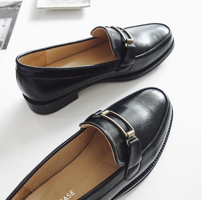 33ce70e44caafe As Marque Casual Mode Picture Printemps D'été Rue Femmes Sapato Nouvelle  Cuir Chaussures Mules 2018 ...