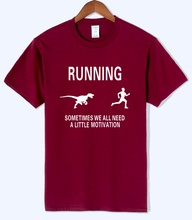 2018 summer men's T-shirts motivation print shirt funny T-shirt brand clothing motivate runners sportwear t shirt harajuku tops