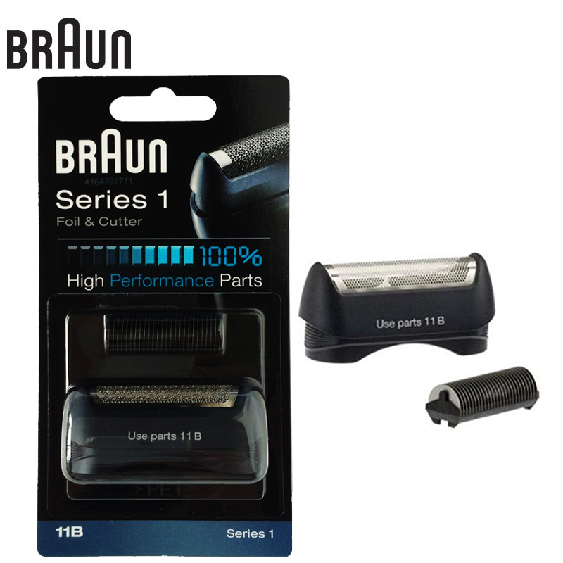 Galleria fotografica <font><b>Braun</b></font> 11B Electric Shavers Razor foil & cutter high performance parts for Series 1 blades (110 120 140 150 5684 5682 New 130)