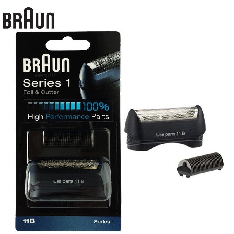 Электрическая бритва Braun 11B, Высокоэффективная бритва, резак, детали для серии 1, лезвия (110 120 140 150 5684 5682 130)