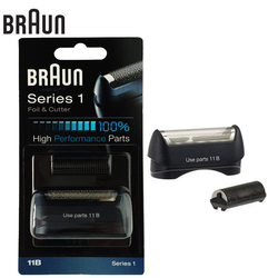 Braun 11B Electric Shavers Razor foil & cutter high performance parts for Series 1 blades (110 120 140 150 5684 5682 New 130)