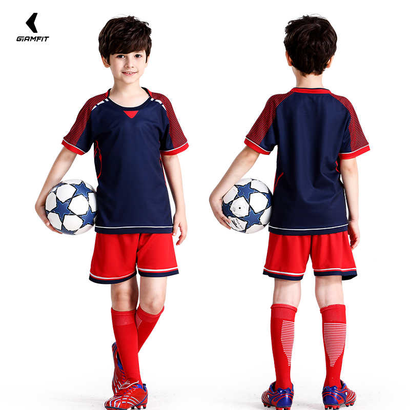 768fde151f31 ... Custom Soccer Jersey Camisas De Futebol 2019 Jersey Kids Short Sleeves Football  Shirts Team Training Uniform ...