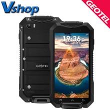 Geotel A1 IP67 Водонепроницаемый 3 г смартфон 1 ГБ Оперативная память 8 ГБ Встроенная память 4.5 дюймов Android 7.0 мобильные телефоны quad core 3400 мАч Dual Sim сотовый телефон