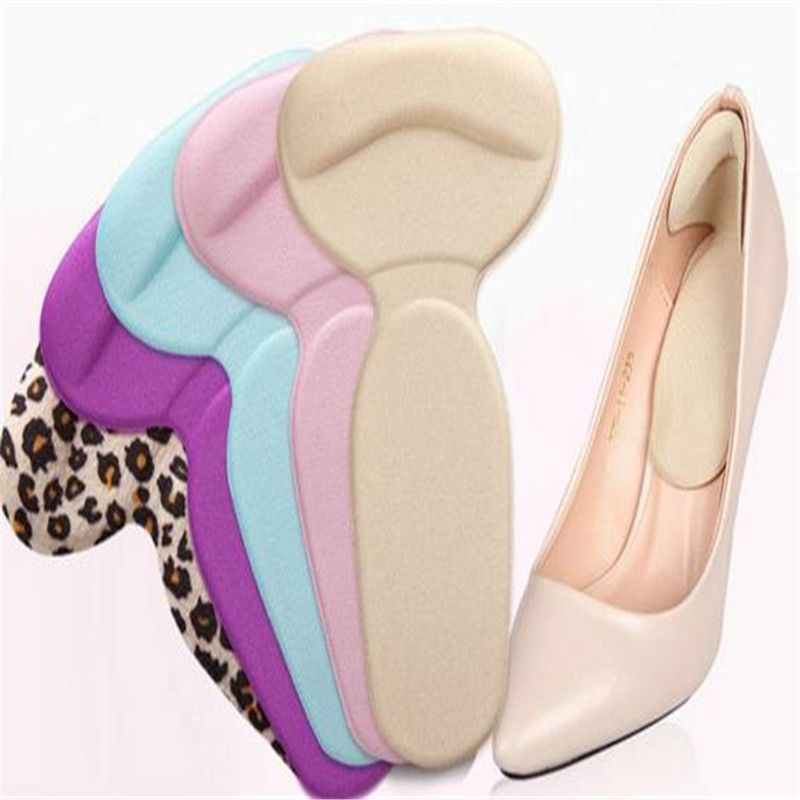 1 PAIR Rearfoot invisible stickers T SHAPED slip-resistant foot shoes stickers,high heel shoe pad insoles foot care AIS623