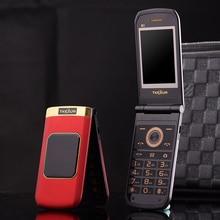 Tkexun M3 флип телефон 2.4 «двойной Экран Dual SIM Камера MP3 MP4 Сенсорный экран Роскошный сотовый телефон