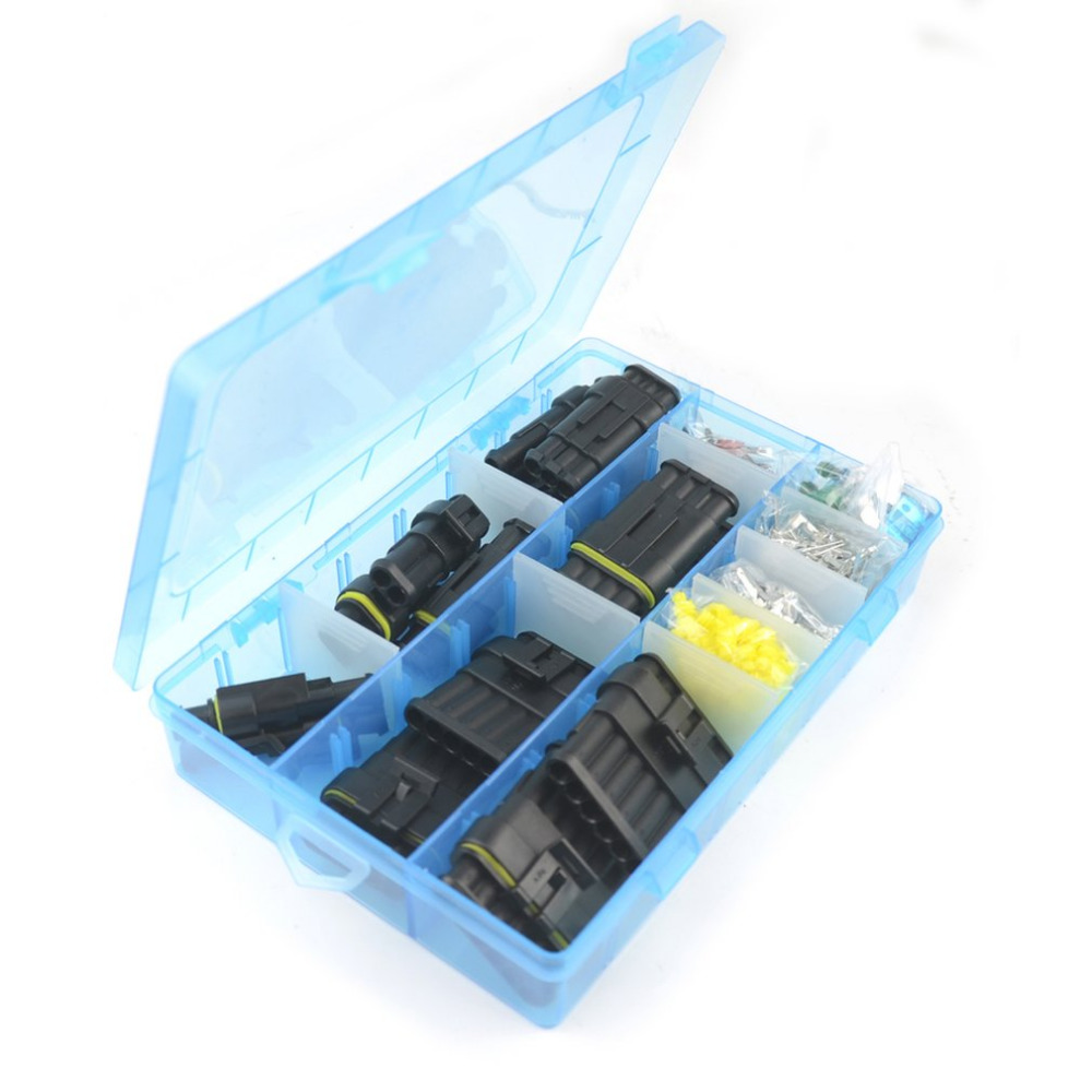 M/S Size Terminal Connector Silicone Sealed Electrical Connector Plug Fuse  Box Set Waterproof Car Motorcycle Truck Boat-in Cables, Adapters & Sockets  from ...
