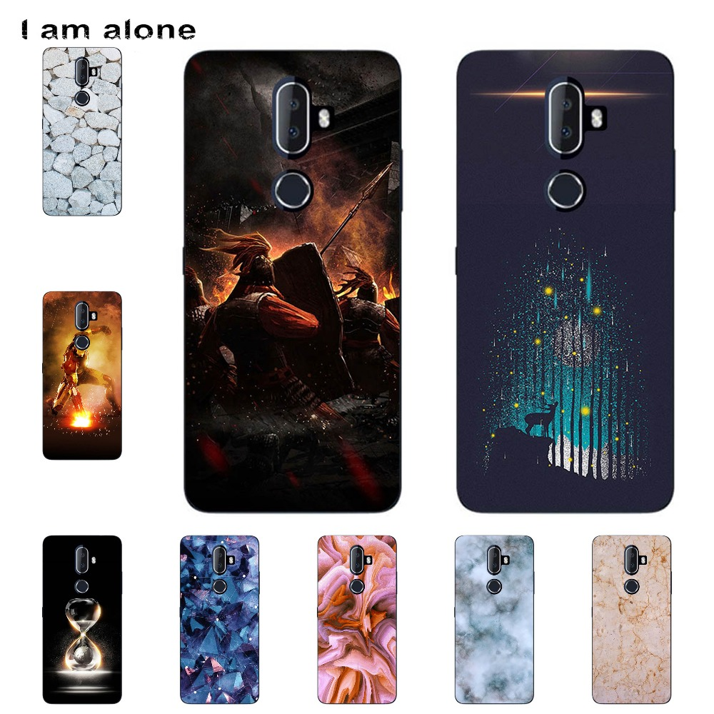 I Am Alone Phone Cover For Alcatel 3V 5099D 5099 5099A 6.0 Inch Solf TPU Cellphone Fashion Cases Shipping Free