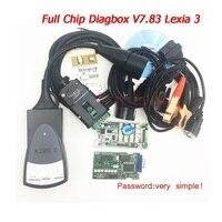 A++ quality Full chip Lexia 3 diagnostic tool V7.83 Lexia 3 V48 pp2000 V25 OBD2 diagnostic Scanner With Newest Diagbox 7.83