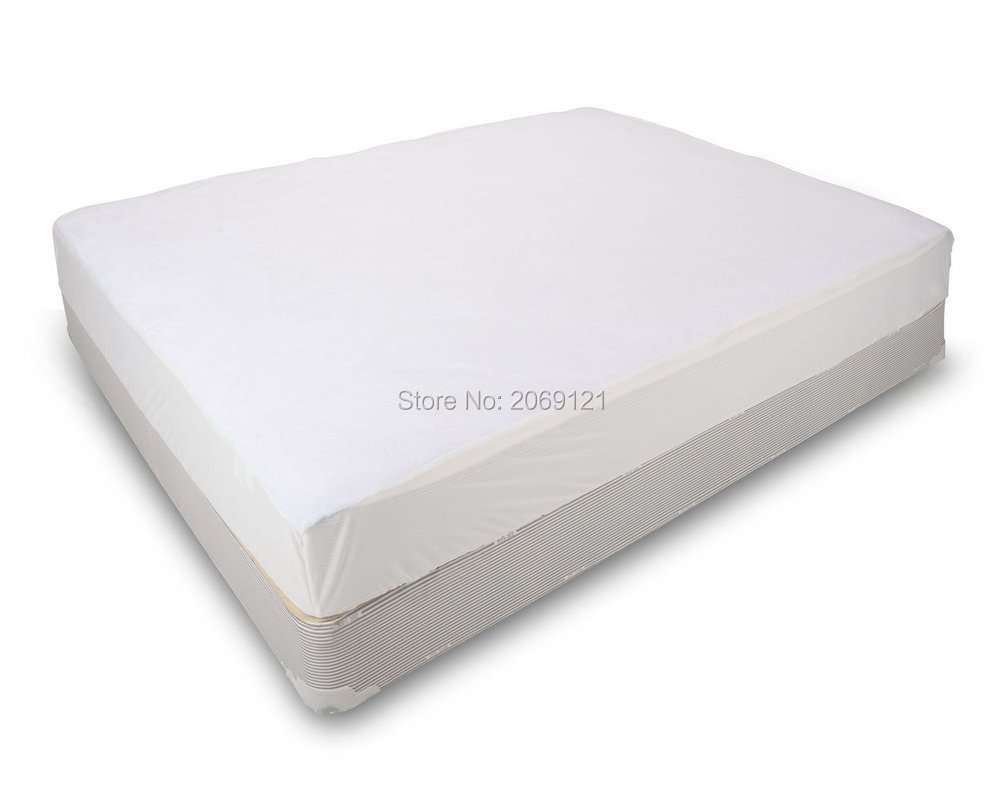 160X200cm Classic 100% Polyester Waterproof Mattress Protects Against Dust Mites And Bacteria Fitted Sheet Mattress Cover