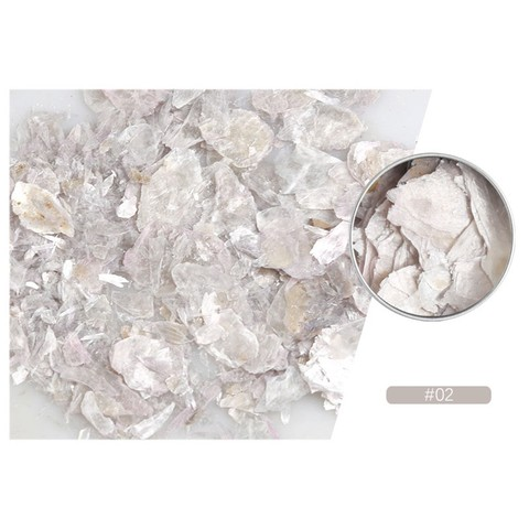 Nail Decorations 2019 Nails Decorations New Arrive Nails Rock Slice Mica Slice Shell Slice Thin Fragment Mix Piece Nail Ornament Lahore