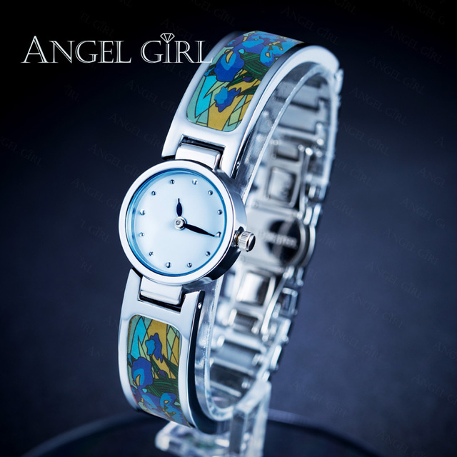 AG fashion brand flower fine jewelry set bracelet  Vintage Series shielded  watches 13 styles