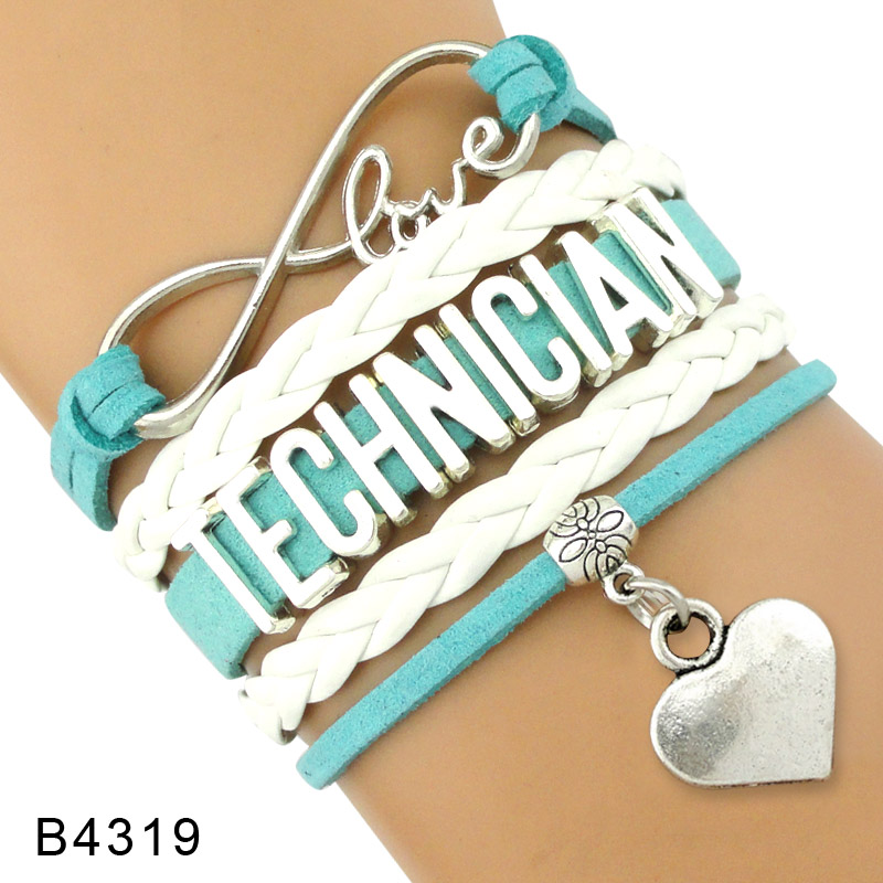 Electrician Social Work Engineering Welder Mechanic Architecture Gardening Lineman Wireman Cashier Technician Bracelets ...