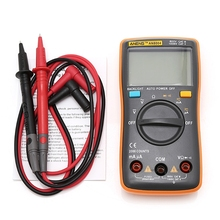 AN8004 Digital Multimeter LCD AC/DC Ammeter Voltmeter Ohm Resistance Meter XJ13 W310