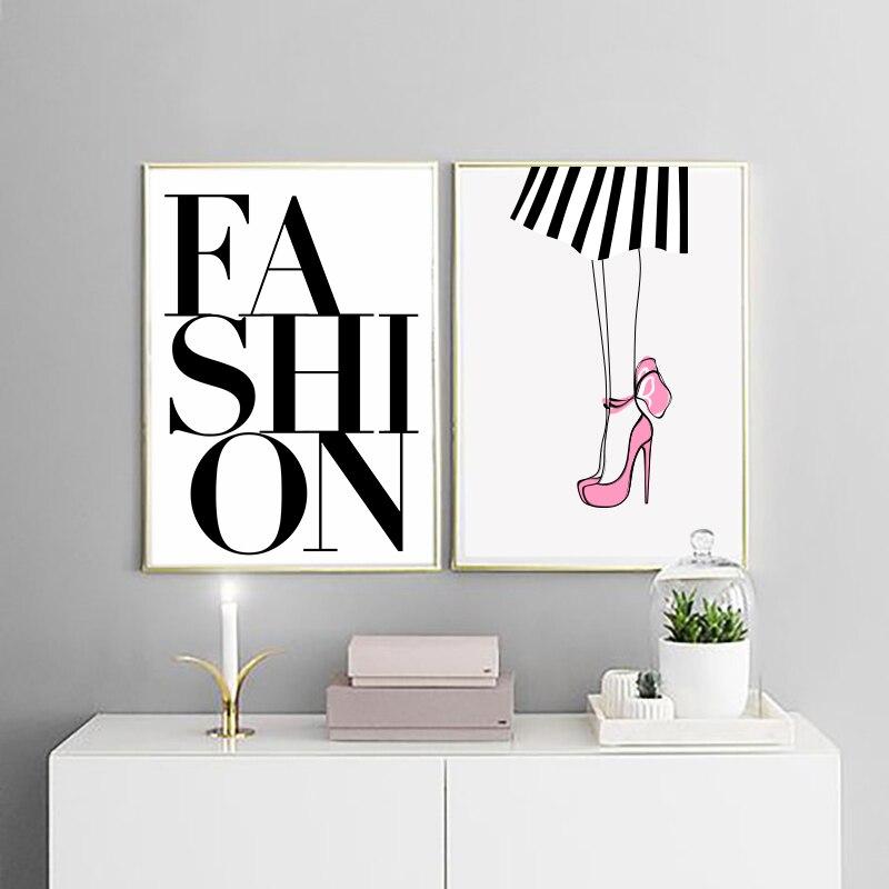 Fashion Canvas Painting Home Decor