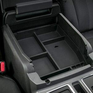 Image 4 - Автомобильный ящик в салон для хранения в подлокотнике MOPAI, Декоративный ящик для перчаток из ABS для Ford F150, 2015