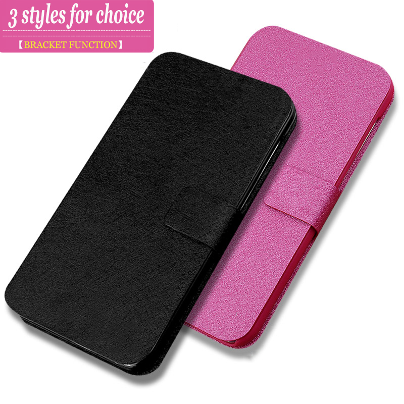 (3 Types) For LG Optimus L9 II D605 Case For LG L9 ii L9 2 Wallet PU Leather Cover Phone Bag With Stand And Card Slots