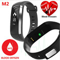 M2 Smart Band Heart Rate Blood Pressure Pulse Meter Bracelet Fitness Watch Smartband for iOS Android PK mi band2