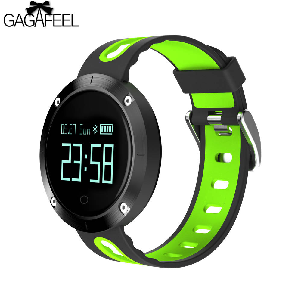 Heart Rate Monitor Smart Watch for iPhone Android OLED Touch Screen Smart Bracelet Clock for