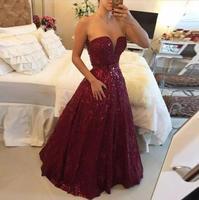 Vestido de noiva Sparkly длинное вечернее платье на выпускной 2018 Кружева Милая Формальные Вечерние платья Дешевые Мать невесты платья