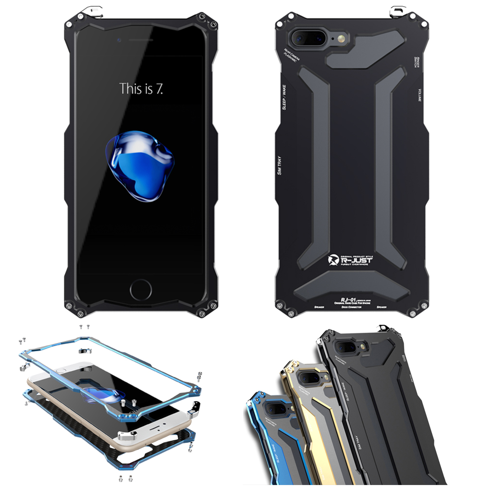 bilder für R-just transformator gundam klettern outdoor aluminium metallrahmen case abdeckung schild s für iphone 7 iphone7 plus 5,5 original