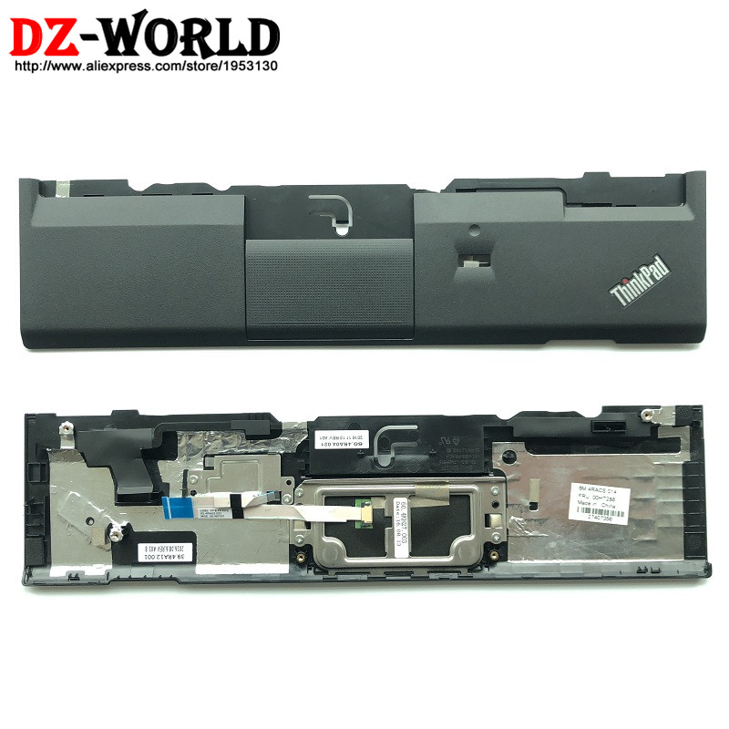 New Orig Laptop Panel Palmrest Cover for Lenovo ThinkPad X230 X230i with Fingerprint Hole and Touchpad