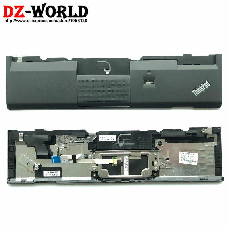 Новый/оригинальные ноутбук Панель Упор для рук чехол lenovo ThinkPad X230 X230i с отпечатков пальцев отверстие и сенсорная панель 00HT288 04W3725 04X4613