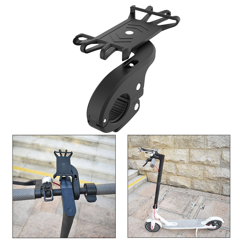 Phone Holder for xiaomi Electric Scooter Accessories Universal Motorcycle Bicycle Support Adjustable Bike Phone Holder safety