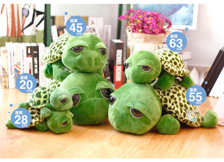 - Huge Size Turtle Plush Tortoise Toy Cute -2839
