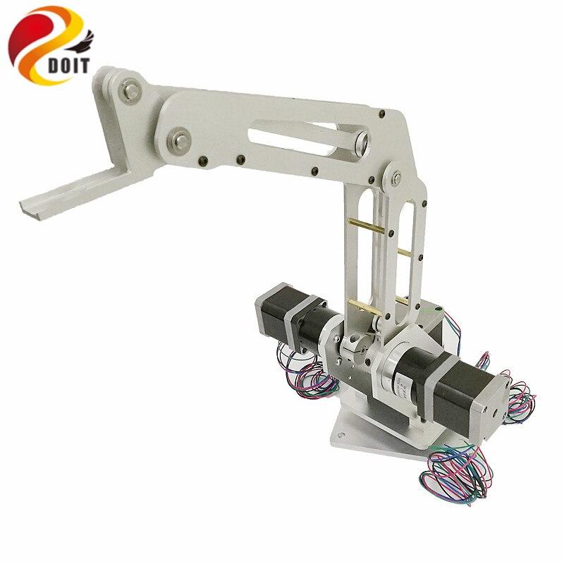 Doit 3dof Industriële Robotarm Manipulator Robot Arm 3 Axis Met Volledige Metalen Frame Voor Schrijven, Laser Graveren, 3d Printer